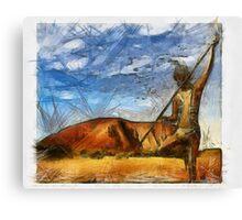 Land Title Canvas Print