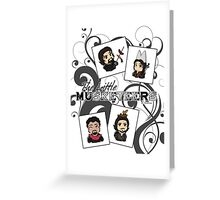 The Little Musketeers Greeting Card