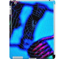 'Blue Web' iPad Case/Skin