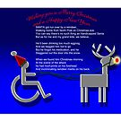Handicapped Santa by mago
