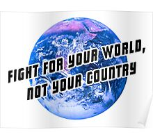Fight for the world Poster