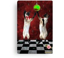christmas for two Canvas Print