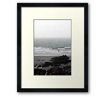 Tidal Rocks Framed Print