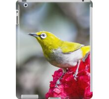 Oriental White Eye iPad Case/Skin