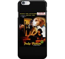English Pointer Art - Pulp Fiction Movie Poster iPhone Case/Skin