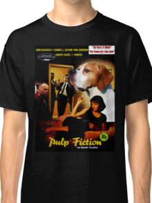 English Pointer Art - Pulp Fiction Movie Poster Classic T-Shirt