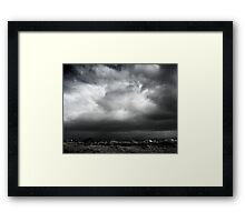 Mojave Storm Framed Print