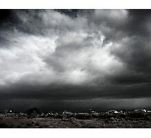 Mojave Storm Photographic Print
