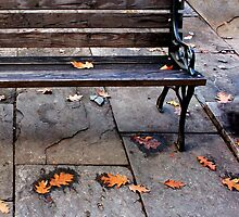 Bus stop..... by DaveHrusecky