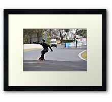 Isaac Llewelyn-Davies @ Newtons Playground 2009 Framed Print