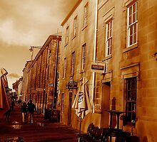 Salamanca Moods - Hobart, Tasmania by Deanna Roberts Think in Pictures