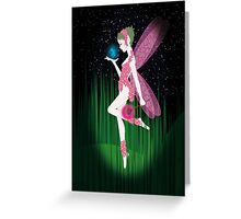 Meeting the Blue Fairy Greeting Card
