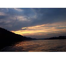 Sunset on the Allegheny Photographic Print