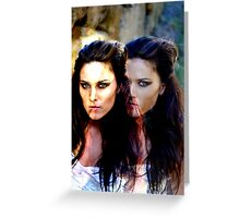 """""""Two Sides to Every Story"""" Greeting Card"""