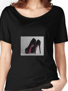 Ladies Shoes Women's Relaxed Fit T-Shirt