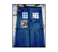 Tardis shed Photographic Print