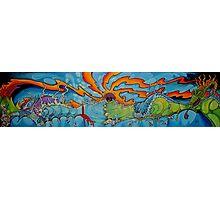 Ocean Graffitti Photographic Print