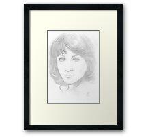 Sarah Jane Smith Framed Print