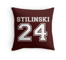Stilinski T - 3 Throw Pillow