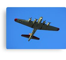 Boeing B17 Flying Fortress Canvas Print
