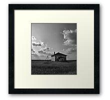 Rural Education Framed Print