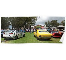 McLarens on the Lake, Classic Adelaide Car Rally Poster