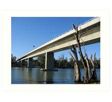 Robinvale - Euston Bridge Art Print