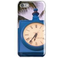 Early Beach Time  iPhone Case/Skin