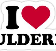 I love Bouldering Sticker
