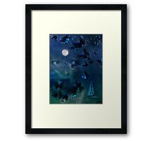 I Travel Far & Wide When I Dream Framed Print