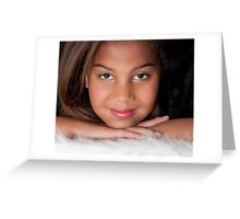 Sugar and spice...that's what little girls are made of! Greeting Card