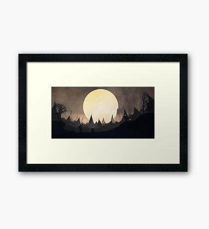 Umbreon... Framed Print