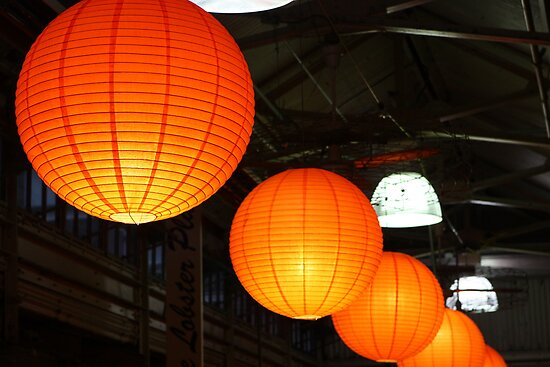 Seasonal Lanterns at the Chelsea Market by ElyseFradkin