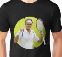 Roger Federer Ball on a String Unisex T-Shirt