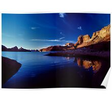 Morning On Lake Powell Poster