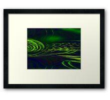brains eye Framed Print