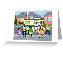 The Bakery Truck  Greeting Card
