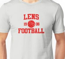 Lens Football Athletic College Style 2 Gray Unisex T-Shirt
