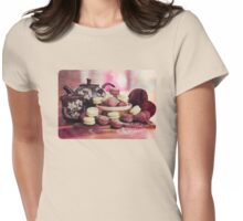 Teatime Treats Womens Fitted T-Shirt