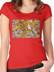 Gold Mine Women's Fitted Scoop T-Shirt