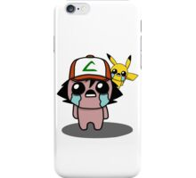The Binding Of Isaac/Pokémon Crossover - Ash Ketchum and Pikachu (Kanto) iPhone Case/Skin
