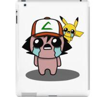 The Binding Of Isaac/Pokémon Crossover - Ash Ketchum and Pikachu (Kanto) iPad Case/Skin