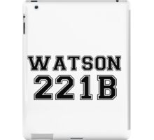 Watson T iPad Case/Skin