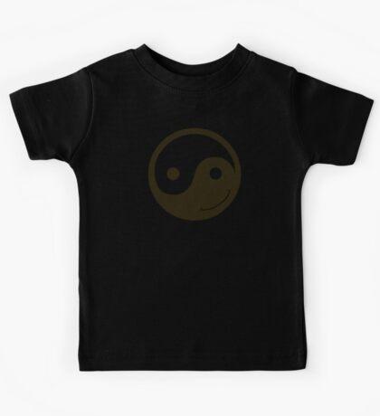 yin yang smiley Kids Clothes