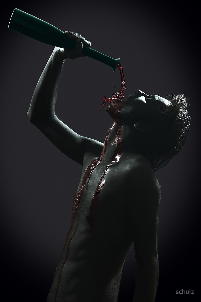 Saint Wine by schulz