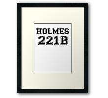 Sherlock T Framed Print