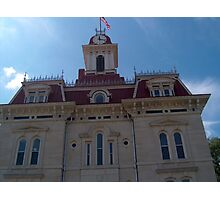 Chase County Courthouse Photographic Print