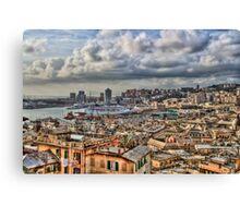 Genoa Old Port Canvas Print