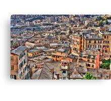 Genoa panoramic Canvas Print