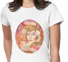 Lady Cnidaria Womens Fitted T-Shirt